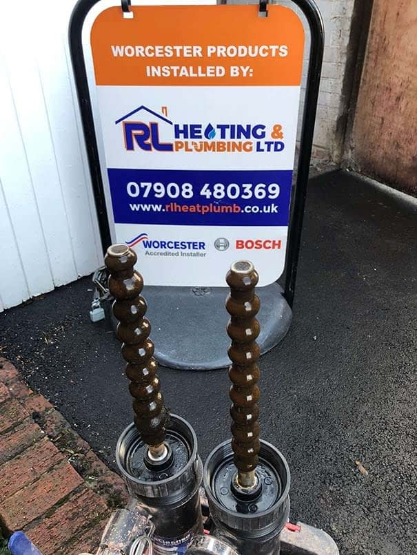 Chemical Heating Power Flush - Staffordshire, Cheslyn Hay  - RL Heating and Plumbing Ltd